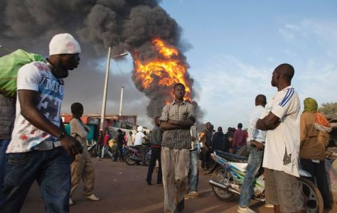"""Photo from Times LIVE. From article titled """"Mali war escalates with French intervention"""""""