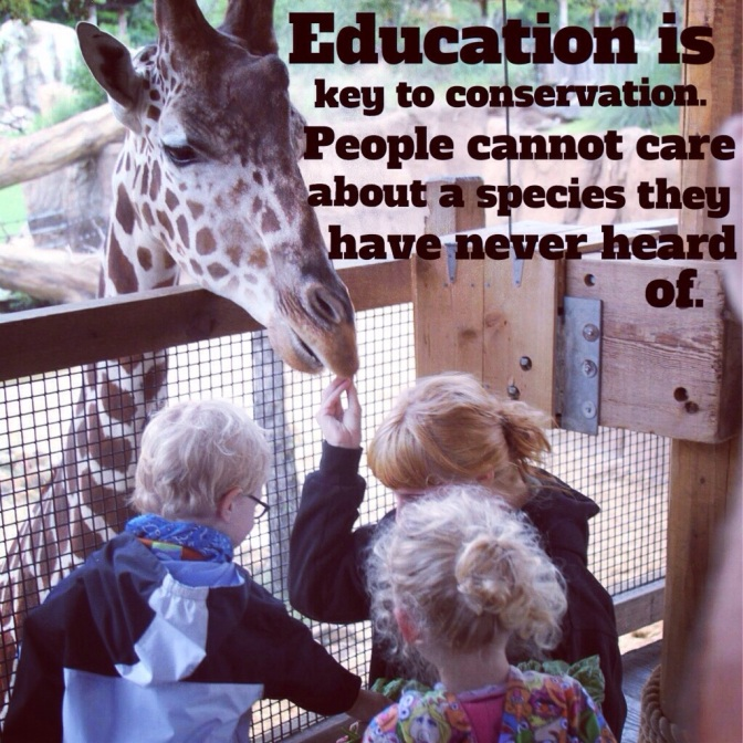 Education is key to conservation