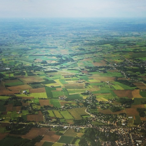 The rolling pastures of the Belgian countryside