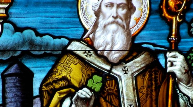 Did St. Patrick rid Ireland of serpents?